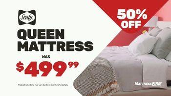 Mattress Firm Semi-Annual Sale TV Spot, '50 % Off: Free Adjustable Base' - Thumbnail 4