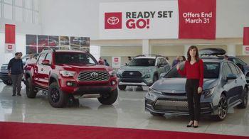 Toyota Ready Set Go! TV Spot, 'Imagine Yourself: Enough' [T1]