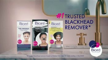 Bioré Charcoal Deep Cleansing Pore Strips TV Spot, 'Oddly Satisfying Results' - Thumbnail 8