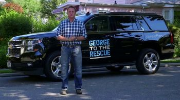 Chevrolet TV Spot, 'George to the Rescue: Pondless Waterfall' [T2]
