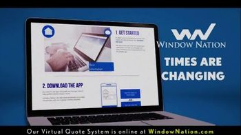 Window Nation TV Spot, 'BOGO: Online Virtual Quote' - Thumbnail 1