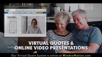 Window Nation TV Spot, 'BOGO: Online Virtual Quote'