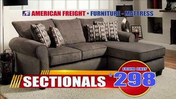 American Freight Tax Time Blowout TV Spot, 'Take It Home Today for Zero Down' - Thumbnail 4