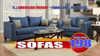 American Freight Tax Time Blowout TV Spot, 'Take It Home Today for Zero Down'