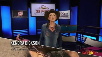 Gold Buckle Barrel Horses TV Spot, 'My Day Job' Featuring Kendra Dickson - Thumbnail 1