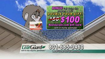 LeafGuard of Utah Spring Blowout Sale TV Spot, 'Stagnant Water' - Thumbnail 9