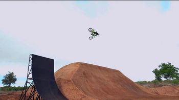 Monster Energy TV Spot, 'World's First Alley-Oop on a Quarter Pipe' Featuring Axell Hodges