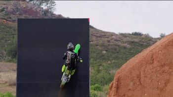 Monster Energy TV Spot, 'World's First Alley-Oop on a Quarter Pipe' Featuring Axell Hodges - Thumbnail 4