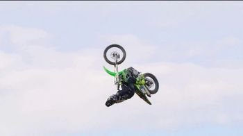 Monster Energy TV Spot, 'World's First Alley-Oop on a Quarter Pipe' Featuring Axell Hodges - Thumbnail 5