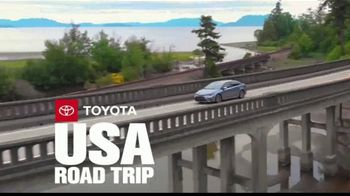Toyota TV Spot, 'USA Road Trip: Advanced Safety Features' Feat. Danielle Demski, Ethan Erickson [T2]