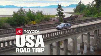 Toyota TV Spot, 'USA Road Trip: Advanced Safety Features' Feat. Danielle Demski, Ethan Erickson [T2]
