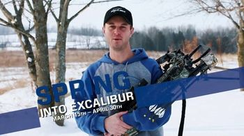 Excalibur Crossbow Spring Into Excalibur TV Spot, 'New Spring Promotion'