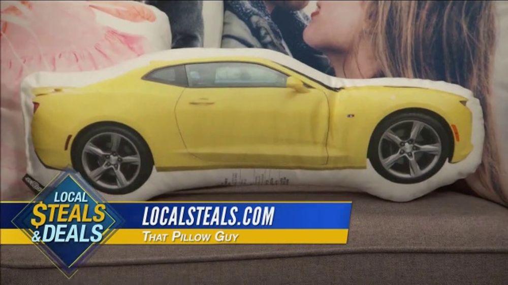 Local Steals & Deals TV Commercial, 'La Soula, Aqua Vault & That Pillow Guy' Featuring Lisa Robertso