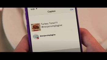 Meijer TV Spot, 'Thanksgiving: Social Media' - Thumbnail 8