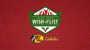 Bass Pro Shops Holiday Kickoff Sale TV Spot, 'Wish List: Henleys, Turkey Fryer and Dehydrator' - Thumbnail 1