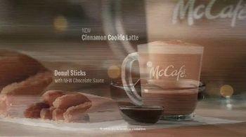 McDonald's McCafé Donut Sticks TV Spot, 'Warm up Your Holiday Spirit' Song by Andy Williams - Thumbnail 6