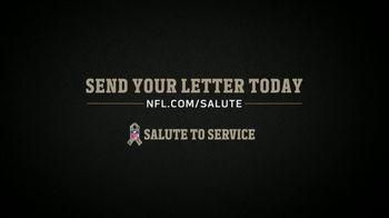 NFL TV Spot, 'Salute to Service: Letters Pt. 2' Featuring Justin Tuck, Tarik Cohen & Shaquem Griffin - Thumbnail 10