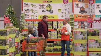 The Home Depot TV Spot, 'Holidays: Ryobi Combo Kit'