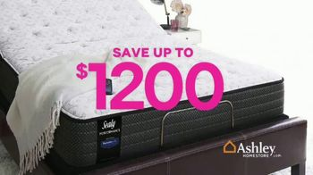 Ashley HomeStore Black Friday Mattress Sale TV Spot, 'Going on Now: Adjustable Sets' Song by Midnight Riot