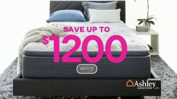 Ashley HomeStore Black Friday Mattress Sale TV Spot, 'Going on Now: Adjustable Sets' Song by Midnight Riot - Thumbnail 4