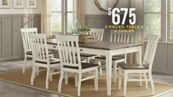 Rooms to Go Holiday Sale TV Spot, 'Dining Sets & Bar Height Sets: $675' - Thumbnail 3