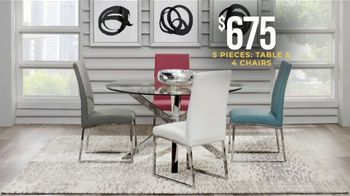 Rooms to Go Holiday Sale TV Spot, 'Dining Sets & Bar Height Sets: $675' - Thumbnail 4