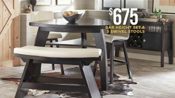 Rooms to Go Holiday Sale TV Spot, 'Dining Sets & Bar Height Sets: $675' - Thumbnail 5