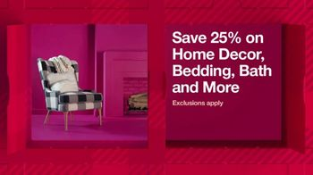 Target TV Spot, 'HoliDeals: Home Decor, Bedding and Bath' Song by Sam Smith - Thumbnail 3