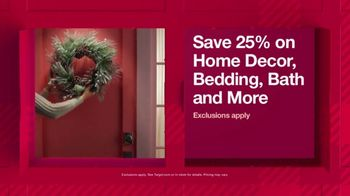 Target TV Spot, 'HoliDeals: Home Decor, Bedding and Bath' Song by Sam Smith - Thumbnail 5