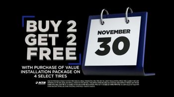 National Tire & Battery Black Friday Savings TV Spot, 'Buy 2, Get 2: $75 Rebate' - Thumbnail 8