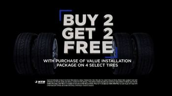 National Tire & Battery Black Friday Savings TV Spot, 'Buy 2, Get 2: $75 Rebate' - Thumbnail 4