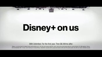 Verizon TV Spot, 'Disney+ on Us'