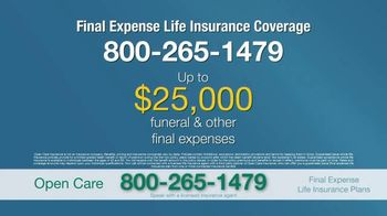 Open Care Insurance Services TV Spot, 'At Peace: $25,000' - Thumbnail 9