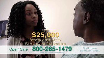 Open Care Insurance Services TV Spot, 'At Peace: $25,000' - Thumbnail 6