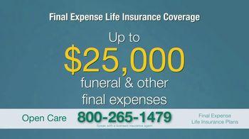 Open Care Insurance Services TV Spot, 'At Peace: $25,000' - Thumbnail 8