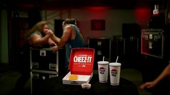 Pizza Hut Stuffed Cheez-It Pizza TV Spot, 'Snackdown SmackDown' Feat. Tucker Knight, Otis Dozovic, Carmella - Thumbnail 4