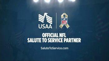 USAA TV Spot, 'Salute to Service: Jimmy Graham' - Thumbnail 9