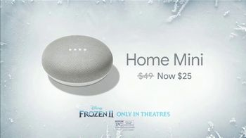 Google Home Mini TV Spot, 'Frozen 2: Good Way: $25' - Thumbnail 3