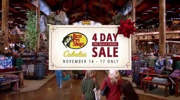 Bass Pro Shops 4-Day Pre-Black Friday Sale TV Spot, 'LED Light Kit, Trail Camera and Gift Cards'