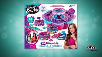Shimmer 'n Sparkle 5-in-1 Friendship Bracelet Studio TV Spot, 'Hundreds of Styles' - Thumbnail 7