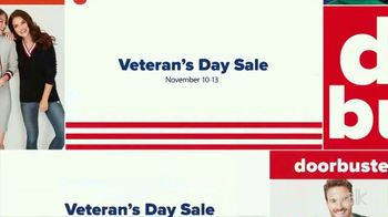 Belk Veterans Day Sale TV Spot, 'Boots, Thermal Tops and Beauty Box'