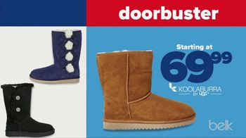 Belk Veterans Day Sale TV Spot, \'Boots, Thermal Tops and Beauty Box\'