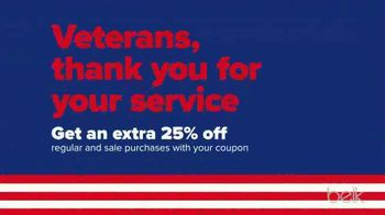 Belk Veterans Day Sale TV Spot, 'Boots, Thermal Tops and Beauty Box' - Thumbnail 7