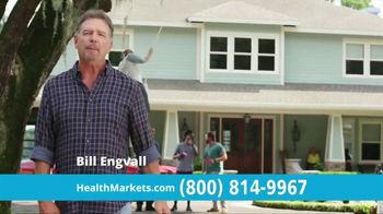 HealthMarkets Insurance Agency FitScore TV Spot, 'Only Days Remaining' Featuring Bill Engvall - 3275 commercial airings