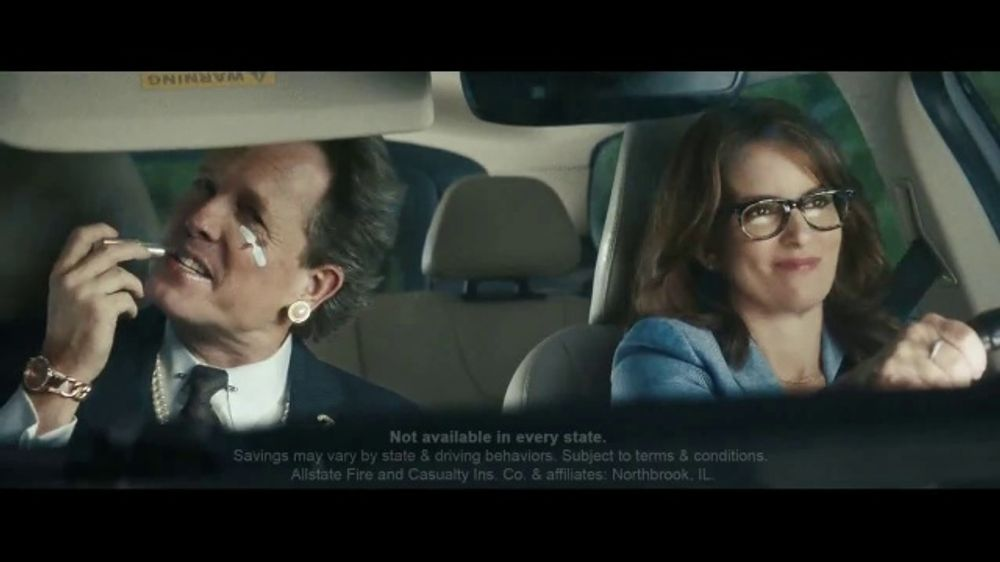Allstate Drivewise TV Commercial, 'Mayhem: Mother-in-Law' Featuring Tina Fey, Dean Winters