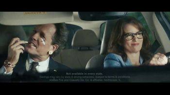 Allstate Drivewise TV Spot, 'Mayhem: Mother-in-Law' Featuring Tina Fey, Dean Winters - 84 commercial airings