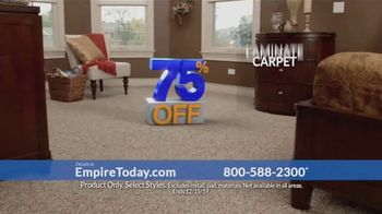 Empire Today 75 Percent Off Sale TV Spot, 'Beautiful New Floors'