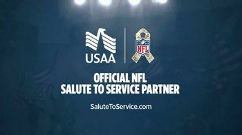 USAA TV Spot, 'NFL Salute to Service: Military Flyover' - Thumbnail 10