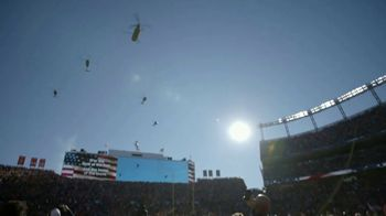 USAA TV Spot, 'NFL Salute to Service: Military Flyover' - Thumbnail 4
