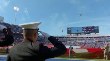 USAA TV Spot, 'NFL Salute to Service: Military Flyover' - Thumbnail 5